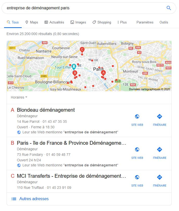 Présentation Google My Business